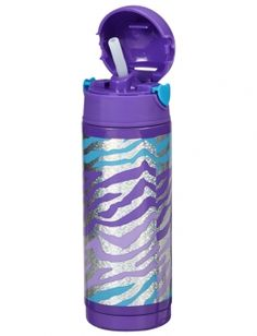 Shop Glitzy Zebra Insulated Water Bottle and other trendy girls {CATEGORY} {PARENT_CATEGORY} at Justice. Find the cutest girls {PARENT_CATEGORY} to make a statement today.