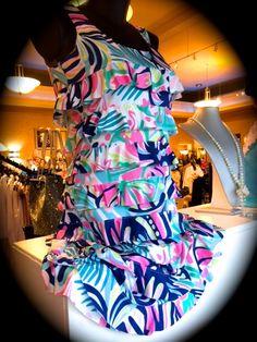 Ruffle Dress by Tang
