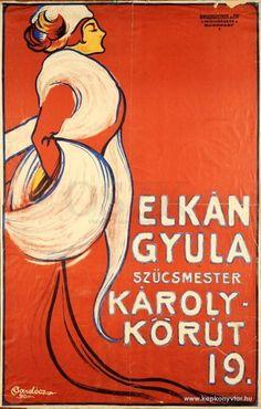 Bardócz Árpád - Elkán Gyula szűcsmester, 1910