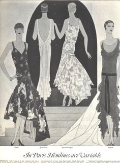 1928 lg d illustration fashion worth patou louiseboulanger drecoll engel
