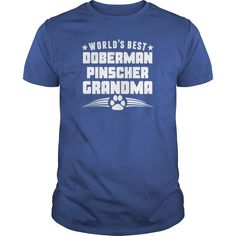 Worlds Best #Doberman Pinscher Grandma TShirt  Mens TShirt, Order HERE ==> https://www.sunfrogshirts.com/Pets/113261731-408293723.html?9410, Please tag & share with your friends who would love it, #renegadelife #xmasgifts #jeepsafari  #doberman pinscher for sale, doberman pinscher angry, white doberman pinscher   #family #gym #fitnessmodel #athletic #beachgirl #hardbodies #workout #bodybuilding