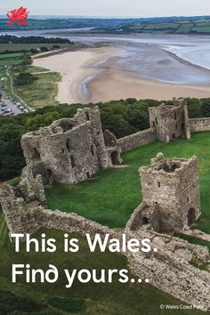 Over 600 epic Welsh castles are waiting to be explored. Discover more here and start planning your adventure. Welsh Castles, Castles In Wales, Rockingham Castle, Norman Castle, Visit Canada, Beautiful Castles, Vacation Places, World Heritage Sites, Cool Places To Visit