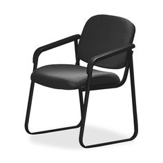 Deluxe Sled Base Chair with Arms