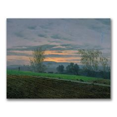 Caspar Friedrich 'Ploughed Field' art