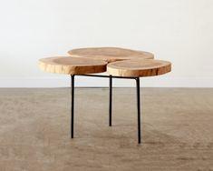 Tablets Table By Topos | Hub Furniture Lighting Living Tree Trunks, Table Furniture, Furniture Design, Workshop, Atelier, Shop Class, Trunks, Work Shop Garage