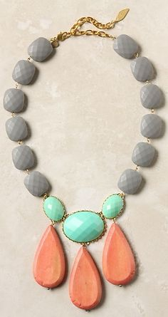 This statement necklace won't be forgotten! It's perfect for a long weekend of fun with your sorority sisters.