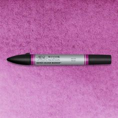 Winsor & Newton Watercolor Markers are expertly crafted with dual nibs to enable you to achieve unrivalled definition and control. Mauve is a rich violet color and was originally a lake pigment. Mauve was discovered in England 1856 by Sir William Perkin and quickly became a fashionable clothing color during the Victorian age. #ArtMarkers #ArtSupplies #Art