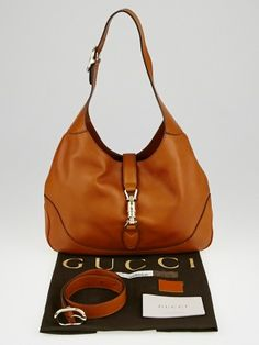 Gucci Violet Leather New Jackie Large Shoulder Bag