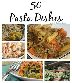 50 Pasta Recipes - Fantastic-Food Recipes