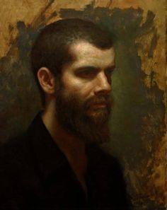 Cesar Santos (b. Self Portrait Age Portraits, Portrait Paintings, Oil Paintings, Watercolor Paintings, Cesar Santos, Self Portrait Artists, Frida And Diego, Epic Art, Painting Studio