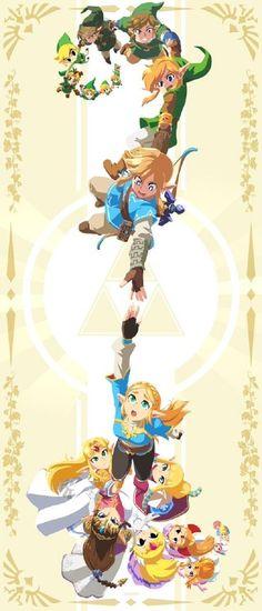 The Legend Of Zelda, Legend Of Zelda Memes, Legend Of Zelda Breath, Legend Of Zelda Timeline, Legend Of Zelda Poster, Link Zelda, Pokemon Mew, Initial Tattoo, Character Art