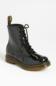 Black Leather Boots by Dr. Martens. Buy for $124 from Nordstrom