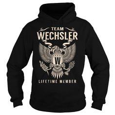 Team WECHSLER Lifetime Member - Last Name, Surname T-Shirt