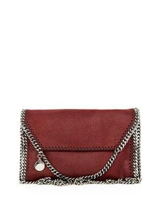 Falabella faux-suede shoulder bag | Stella McCartney | MATCHES...