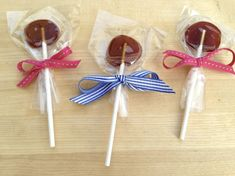 Great idea!  Honey lollipops for when the kiddos are sick.