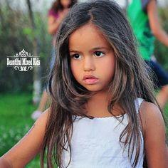 Isabel - 6 Years • Romanian & Cuban ❤ FOLLOW @beautifulmixedkids on instagram WWW.STYLISHKIDSAPPAREL.COM