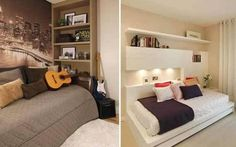 Alcove Bed, Kids Room, Lounge, Sofa, Furniture, Home Decor, Flat, Child Room, Sleeper Couch