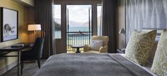 Lake View Guest Room with Balcony at the St. Moritz Hotel, Queenstown #NZ #gourmet #nzfood #nzwine #food #wine #foodie #tourism #travel #queenstown #luxury #premiumtravel