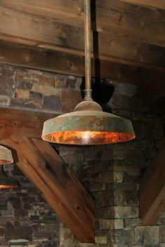 Ironglass Lighting | Barn Light Pendant
