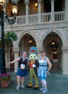 Jiminy Cricket and Cinderella Warrior Princess