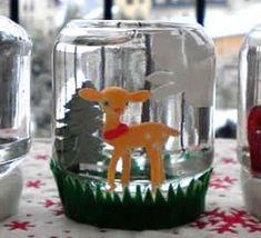 1000 images about tutoriel noel on pinterest comment html and noel - Comment faire une boule a neige ...