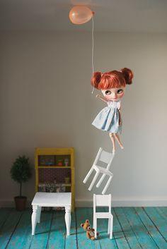 Blythe- takes flight!