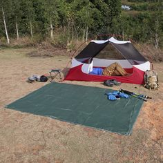 Should You Use a Ground Cover/Cloth Under the Tent? & For use on clothing tents and other gear Sawyer Permethrin ...