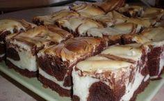 Jednoduché a chutné! Tvaroh a čokoláda - výborná kombinácia chuti. A pritom ešte aj dobre vyzerá. Mňamka! - Báječná vareška Sweet Desserts, Easy Desserts, Sweet Recipes, Dessert Recipes, Czech Recipes, Cake Bars, Sweet Cakes, Pavlova, No Bake Cake