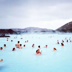 Romantic getaway at the Blue Lagoon in Iceand