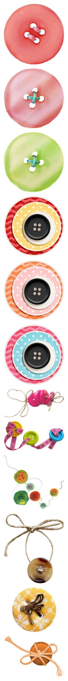 """button+"" by jennifertrimble ❤ liked on Polyvore featuring circles, sewing, overlays, circus, button, fillers, buttons, scrapbooking, home and home decor"