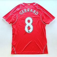 13eb702f7 Gerrards final season Home Shirt 2014 15 - link in bio 🔴  gerrard