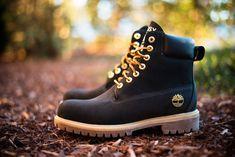 """Stussy x Timberland 6 Inch Boot """"Black"""" feeling these Timberland Chukka, Timberland 6 Inch Boots, Timberland Boots Outfit, Timberland Waterproof Boots, Timberlands Women, Timberland Sneakers, Chukka Boot, Timberland Fashion, Yellow Boots"""