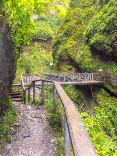 La ruta de las Gargantas de Kakueta en el País Vasco francés