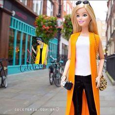 Até tu, Barbie???? #coleteria | sempre ♡ #coletâneamundo #mykonos #alfaiataria #coletes #vest