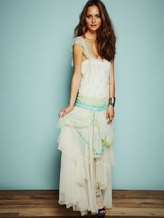 Shorten straps first....Free People Merries Limited Edition Flapper Dress, $700.00