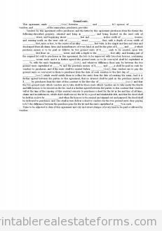 Sample Printable showing title by abstract or title policy