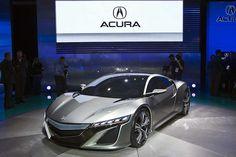 Acura NSX concept. oooo hey sexy