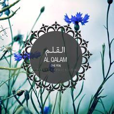 Al Qalam Surah graphics