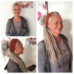 Basic handgemaakte dreads
