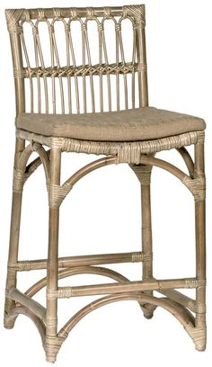 Shop the Primar Counter Stool by Dovetail Furniture at Furnitureland South, the World's Largest Furniture Store and North Carolina's Premiere Furniture Showroom. Decor, Furniture, Rattan, Rattan Counter Stools, Stool, Furniture Store, Large Furniture, Retail Furniture, Dovetail Furniture