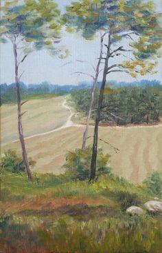 Crossroads Fine Art Oil Painting Landscape Oil by Shulmans on Etsy