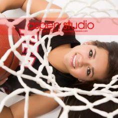Senior Photo Album - Payton Salquist Liking the idea of the basketball hoop