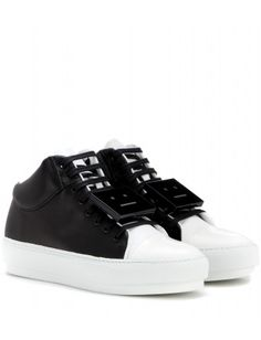 Acne Cleo-leather-high-top-sneakers