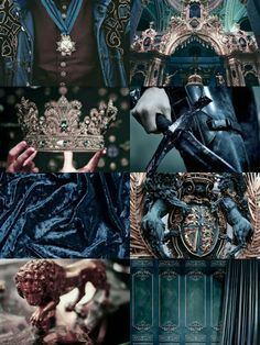 Blue Royalty Aesthetic ~Do Not Remove Caption~ Queen Aesthetic, Princess Aesthetic, Witch Aesthetic, Book Aesthetic, Aesthetic Collage, Character Aesthetic, Aesthetic Pictures, Crown Aesthetic, Story Inspiration
