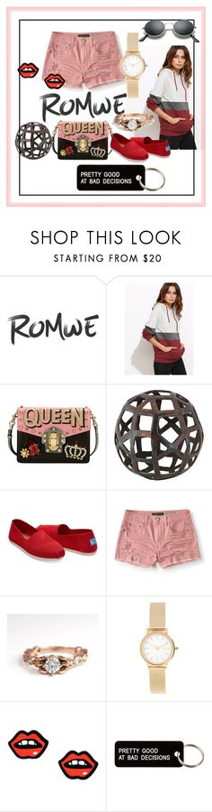 """""""3"""" by anelia-georgieva ❤ liked on Polyvore featuring Dolce&Gabbana, TOMS, Aéropostale, Skagen, George J. Love and Various Projects"""