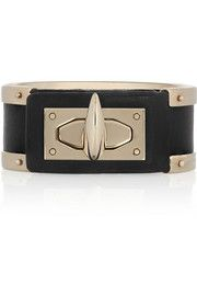 Givenchy Shark Tooth leather cuff