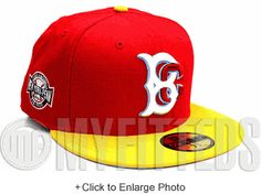 Brooklyn Cyclones Scarlet Yellow White Sky Blue New York Penn Side Patch  New Era Hat UP 89ed6bdb6866