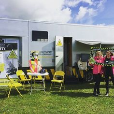Hello, @bhorsetrials ! We're here with our #SeriousAboutSafety lorry for the next two days - today we're enjoying the start of the Mitsubishi Motors Cup! If you're visiting, drop by and say hello!