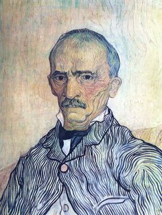 Vincent van Gogh 1889 Portrait of the superintendent Trabuc in the hospital Saint-Paul