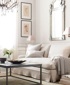 Love the framed photos on the wall and neutral colour tones